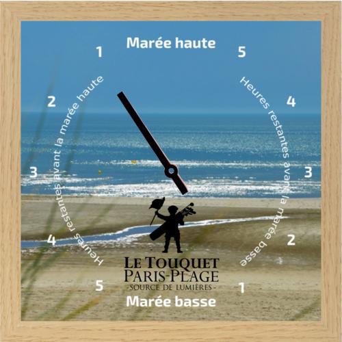 Horloge des marées - Le Touquet Paris Plage