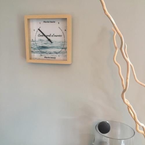 Horloge des marées - Contre vents et Marées