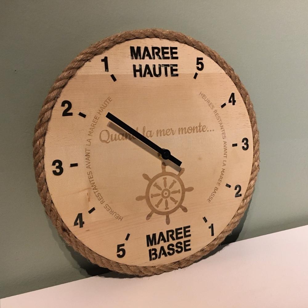 Horloge des marées Tide-Tac - Quand la mer monte