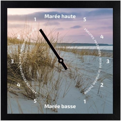 Horloge des marées - Coucher de soleil - Tide-Tac