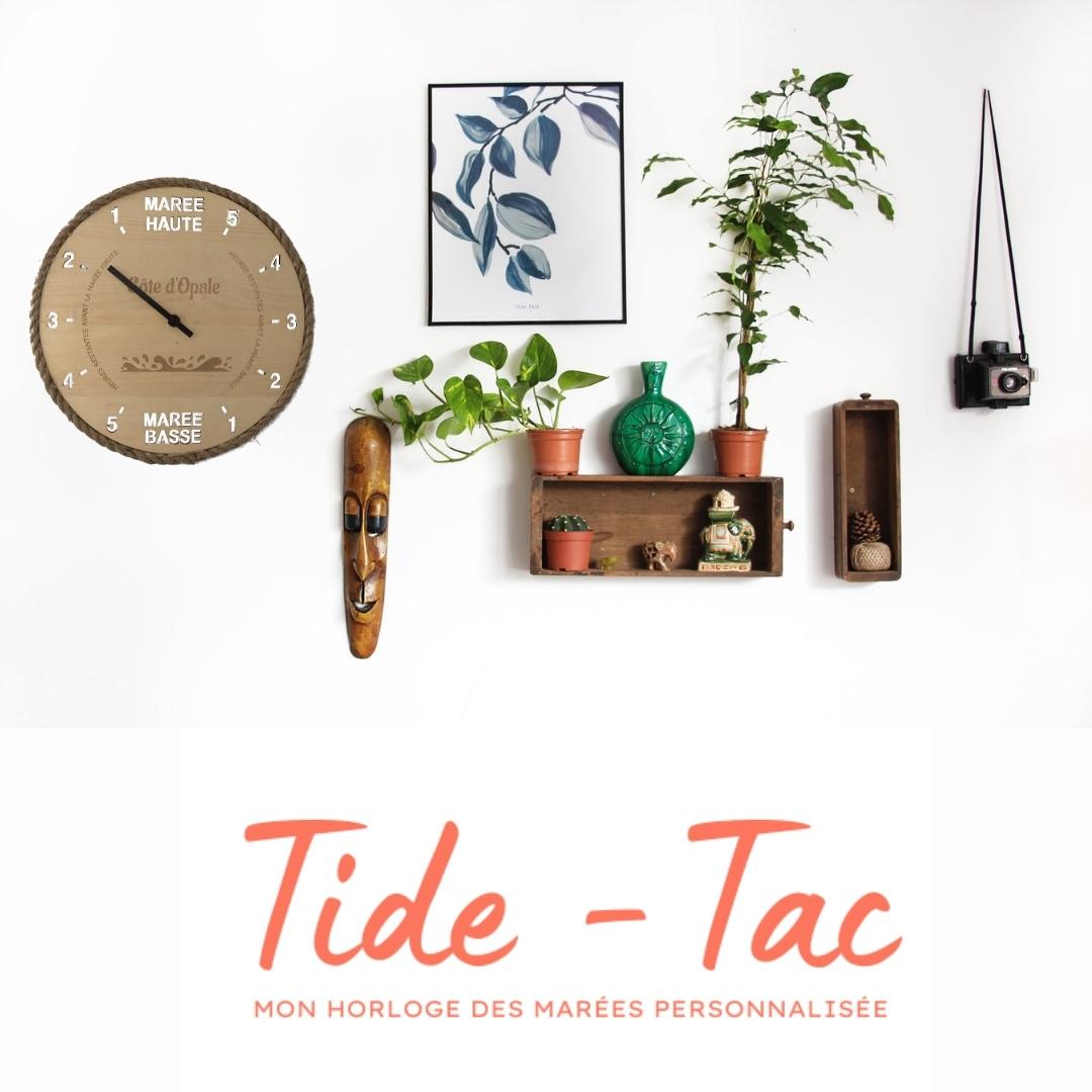 Tide-Tac - horloge des marées personnalisée et gravée