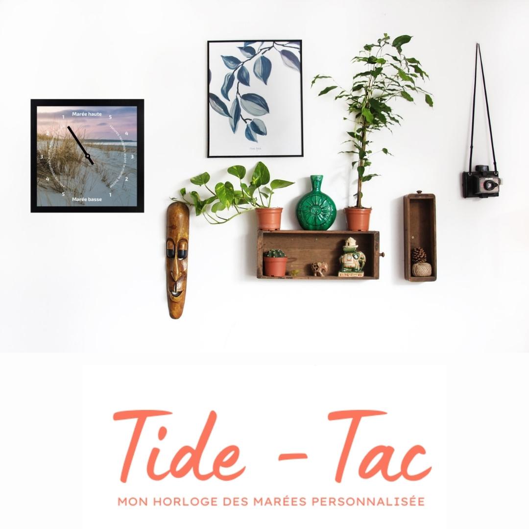 Tide-Tac - horloge des marées personnalisée et imprimée